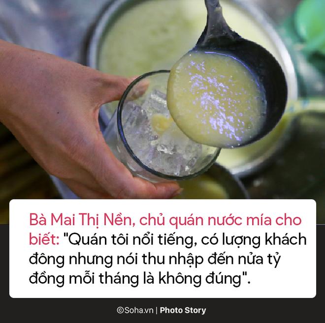 Sự thật về quán nước mía sầu riêng kiếm nửa tỷ đồng một tháng ở Sài Gòn - Ảnh 7.