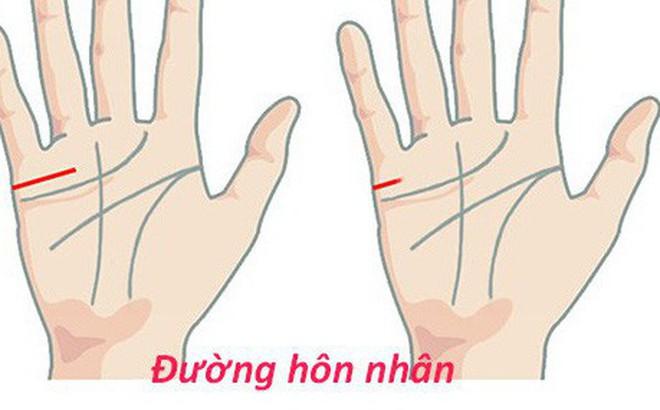 Đưa tay lên và soi những đường chỉ nhỏ xíu này xem, bạn sẽ có câu trả lời về cuộc sống hôn nhân của mình bây giờ và mai sau