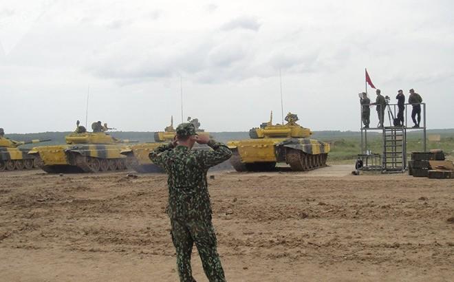 Đại tá Nguyễn Khắc Nguyệt: Đội VN 'đi đấm xứ người'-Sẽ rất ngoạn mục ở Tank Biathlon 2018?