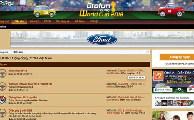 Chuyện gì đang xảy ra với Otofun, diễn đàn xe lớn nhất Việt Nam?