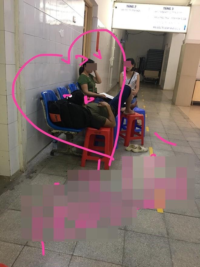 Ở hành lang bệnh viện, câu nói của đôi vợ chồng trẻ khiến cô gái sửng sốt, bức xúc - Ảnh 1.