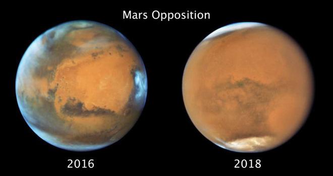 Hình ảnh mới của sao Thổ và sao Hỏa do NASA thu được: Nét và đẹp đến nực cười - Ảnh 5.