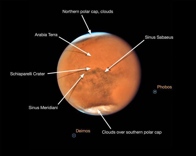 Hình ảnh mới của sao Thổ và sao Hỏa do NASA thu được: Nét và đẹp đến nực cười - Ảnh 6.