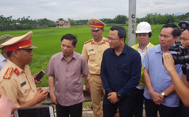 """Bộ trưởng Nguyễn Văn Thể nói về vụ tai nạn thảm khốc: """"Tài xế xe khách có thể đã ngủ gật"""""""