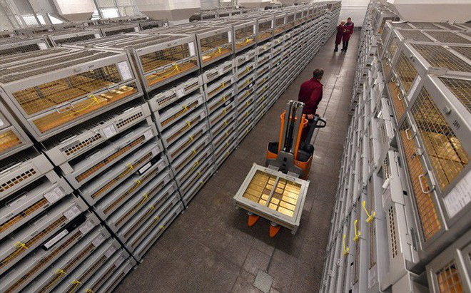 Hé lộ về nơi cất giữ gần 2.000 tấn vàng của Nga