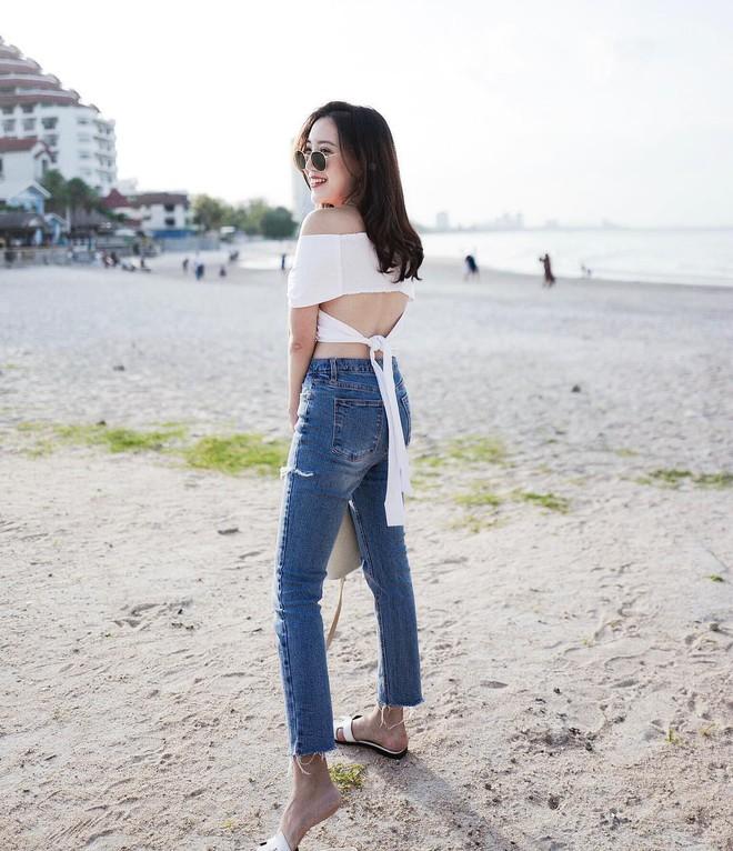 4 mẫu jeans hot nhất mạng xã hội hè này hóa ra đều rất quen thuộc và diện mãi mà chẳng hề lỗi mốt - Ảnh 14.