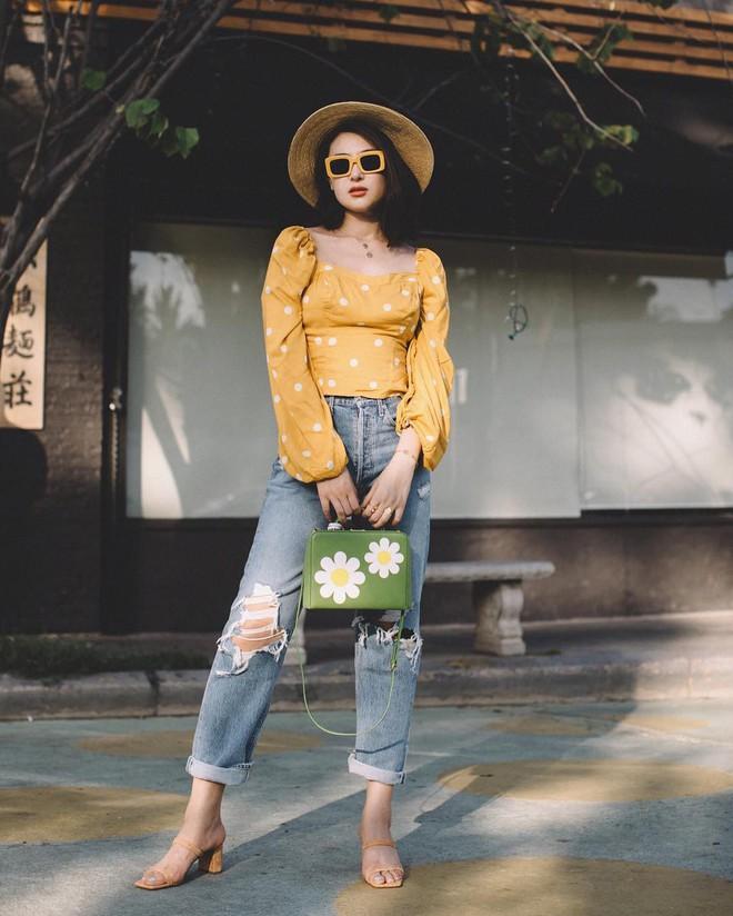4 mẫu jeans hot nhất mạng xã hội hè này hóa ra đều rất quen thuộc và diện mãi mà chẳng hề lỗi mốt - Ảnh 6.