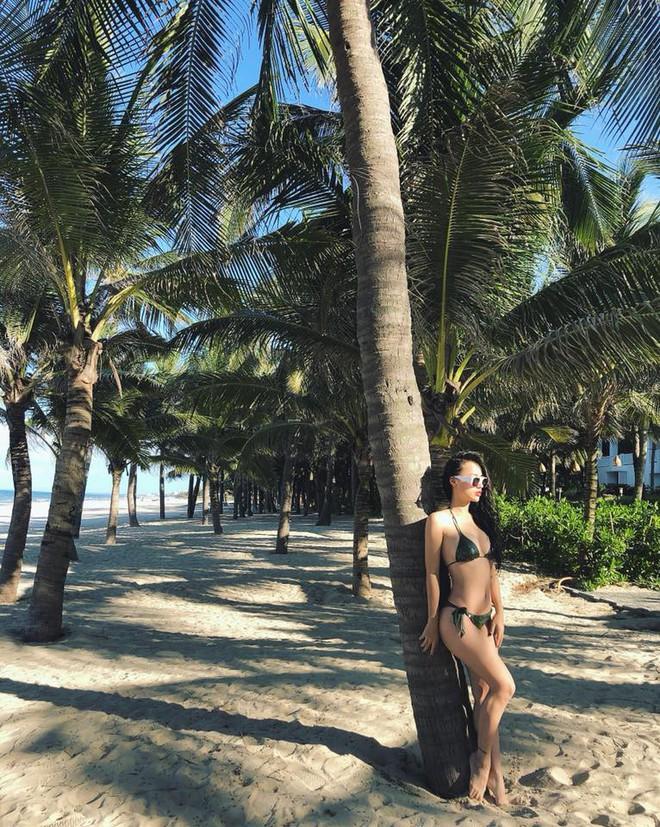 Hậu trường chụp bikini của DJ có thân hình nóng bỏng nhất Hà thành - Ảnh 5.