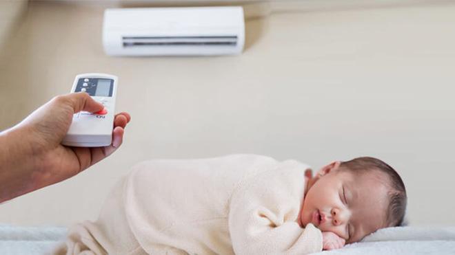 Mẹ phải biết: 5 quy tắc dùng điều hòa để trẻ không bị ốm trong những ngày nắng nóng - Ảnh 2.