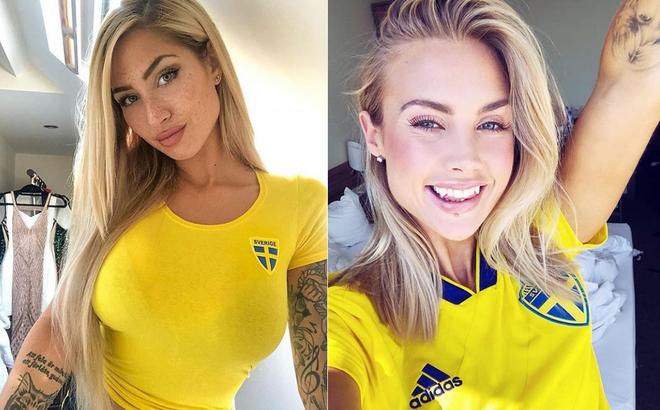 Trước giờ G, báo Anh bất ngờ xuýt xoa vẻ đẹp của con gái Thụy Điển
