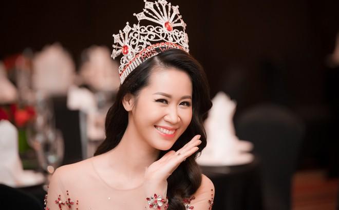 """Dương Thuỳ Linh lộng lẫy xuất hiện sau khi đoạt giải """"Hoa hậu Phụ nữ toàn thế giới"""""""