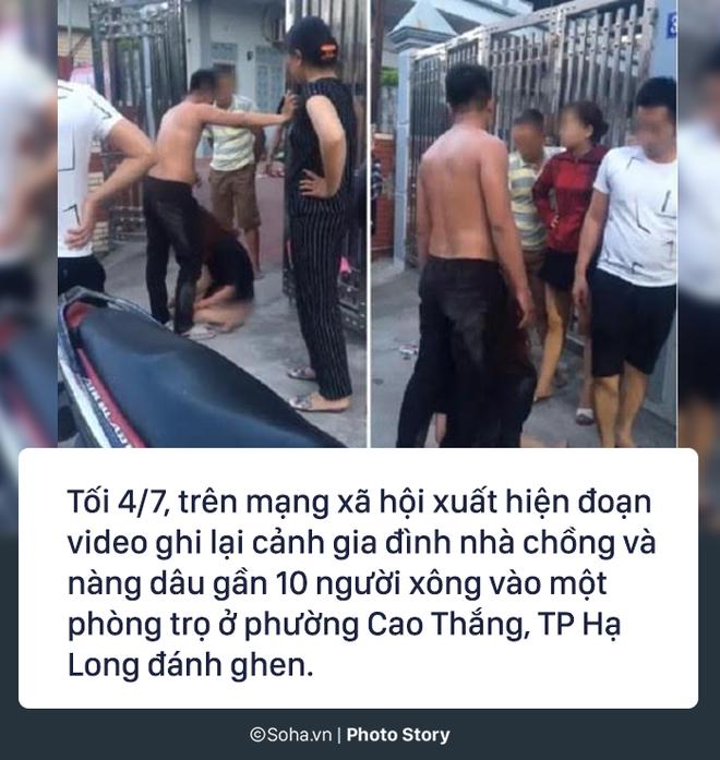Mẹ chồng cùng con dâu đi đánh ghen, lột quần cô gái tại phòng trọ: Có dấu hiệu phạm 3 tội - Ảnh 1.