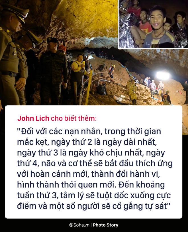 Những hiểm họa đáng sợ nào rình rập đội bóng Thái Lan bên ngoài cửa hang? - Ảnh 10.