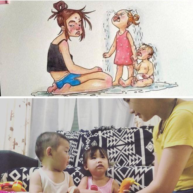 Bộ ảnh được hội các bà mẹ chia sẻ nhiều nhất ngày thứ 7, xem rồi ai cũng phải gật gù đồng ý - Ảnh 3.