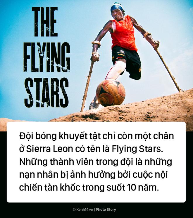 Đội bóng 1 chân tại Châu Phi chứng minh sức mạnh kinh khủng của bóng đá - Ảnh 1.