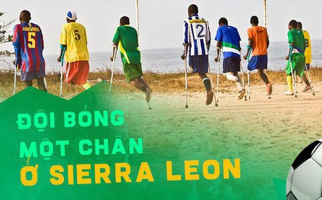 """Đội bóng """"1 chân"""" tại Châu Phi chứng minh sức mạnh kinh khủng của bóng đá"""