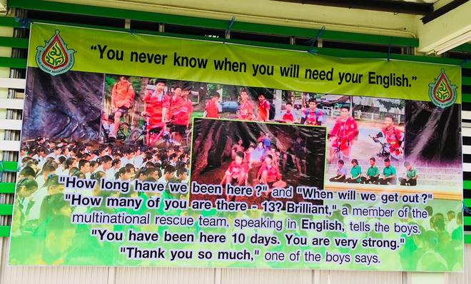 [CẬP NHẬT] Mưa như trút nước ở hang Tham Luang, chiến dịch cứu hộ chính thức tiếp tục - Ảnh 1.