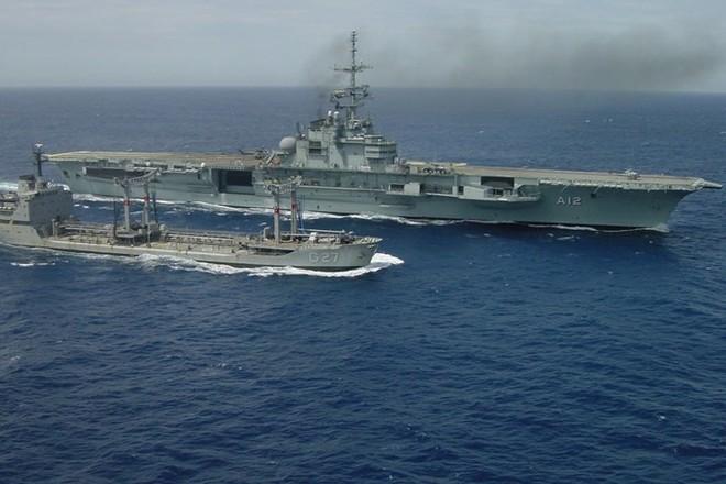 Hình ảnh tàu sân bay duy nhất của hải quân Brazil và châu Mỹ Latin - Ảnh 3.