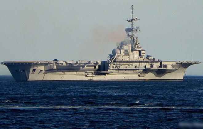 Hình ảnh tàu sân bay duy nhất của hải quân Brazil và châu Mỹ Latin - Ảnh 4.