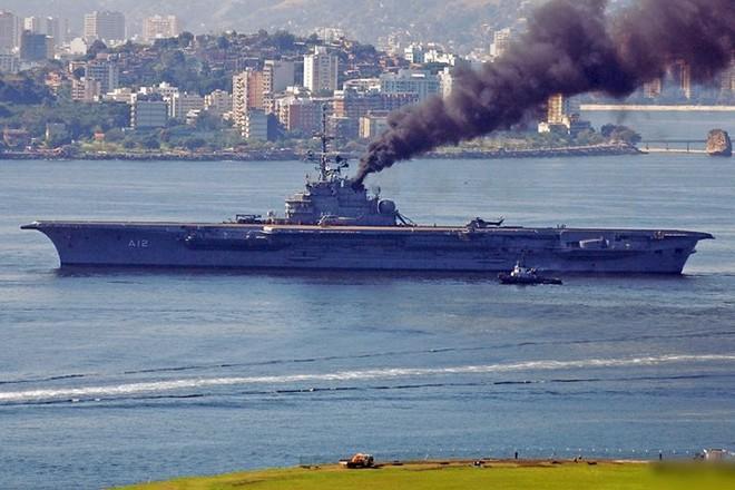 Hình ảnh tàu sân bay duy nhất của hải quân Brazil và châu Mỹ Latin - Ảnh 6.