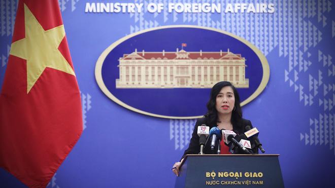 Bộ Ngoại giao Việt Nam gặp đại diện ĐSQ Trung Quốc phản ứng về hoạt động kỷ niệm cái gọi là thành phố Tam Sa - Ảnh 1.