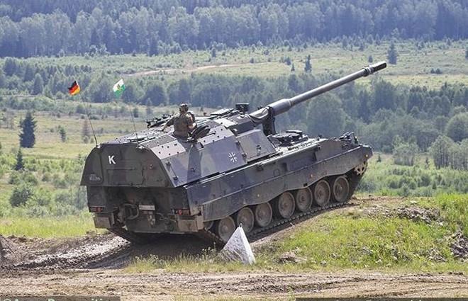 """Soi sức mạnh đáng gờm của """"hoàng đế pháo binh"""" PzH-2000 - Ảnh 12."""