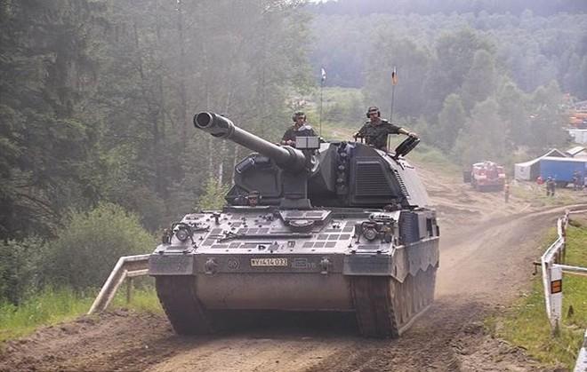 """Soi sức mạnh đáng gờm của """"hoàng đế pháo binh"""" PzH-2000 - Ảnh 8."""
