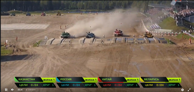 Kết quả mới nhất về trận chung kết tại Tank Biathlon 2018: Trung Quốc tuyệt vọng - Ảnh 8.