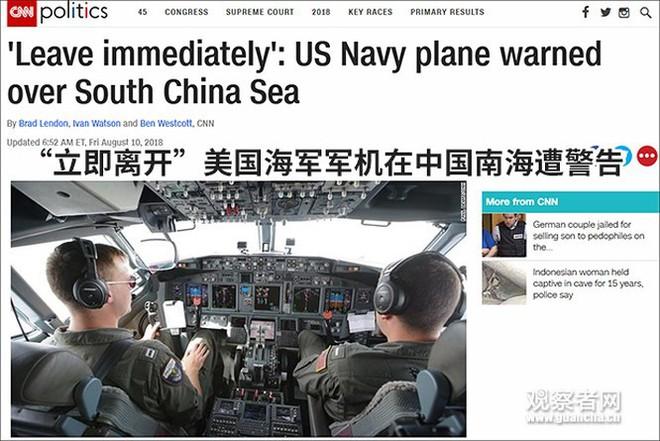 Mỹ cho máy bay tuần thám trinh sát các đảo nhân tạo Trung Quốc chiếm giữ phi pháp ở Trường Sa - Ảnh 4.