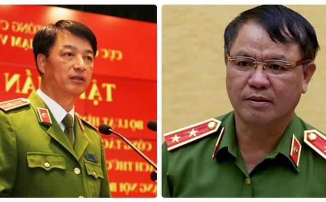 Trung Tướng Trần Văn Vệ Thiếu Tướng Nguyễn Duy Ngọc được Bổ Nhiệm Chức Danh Mới
