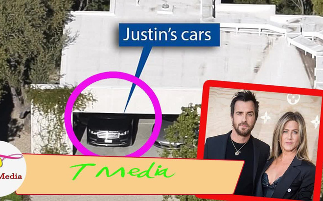 """Sự thật phía sau chuyện Jennifer Aniston đã quay lại với chồng cũ từ hình ảnh """"chiếc xe ở gara"""""""