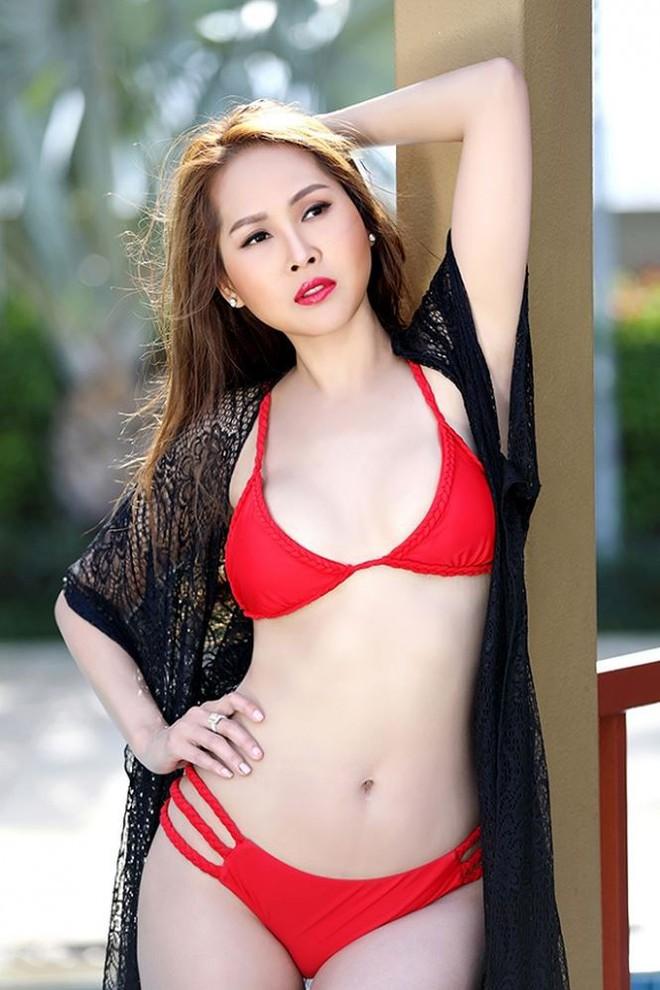 Gái nhảy Minh Thư tái xuất khoe body nóng bỏng với bikini   - Ảnh 3.