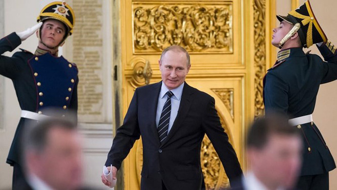 Nga đè bẹp Gruzia năm 2008: Putin dằn mặt Mỹ-NATO - Ảnh 1.