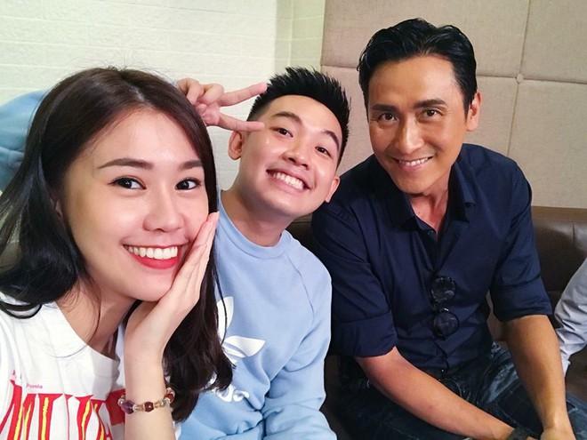 Phở Đặc Biệt, Ngọc Thảo thích thú khi gặp sao TVB Mã Đức Chung - Ảnh 2.