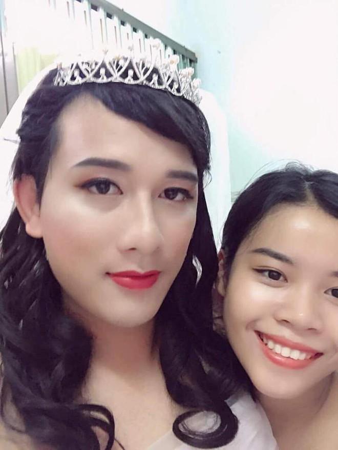 Không có tiền mời mẫu make up, cô gái hô biến chồng thành hot girl xinh đẹp - Ảnh 7.
