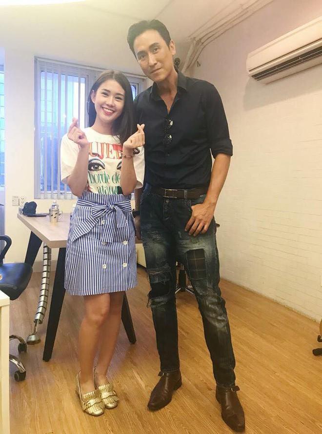Phở Đặc Biệt, Ngọc Thảo thích thú khi gặp sao TVB Mã Đức Chung - Ảnh 4.