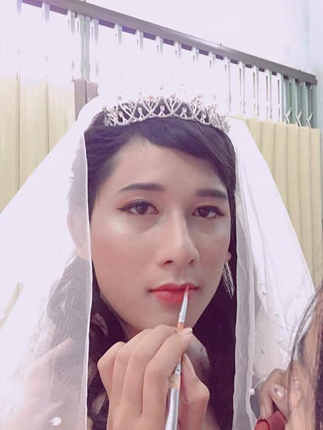 Không có tiền mời mẫu make up, cô gái hô biến chồng thành hot girl xinh đẹp - Ảnh 5.