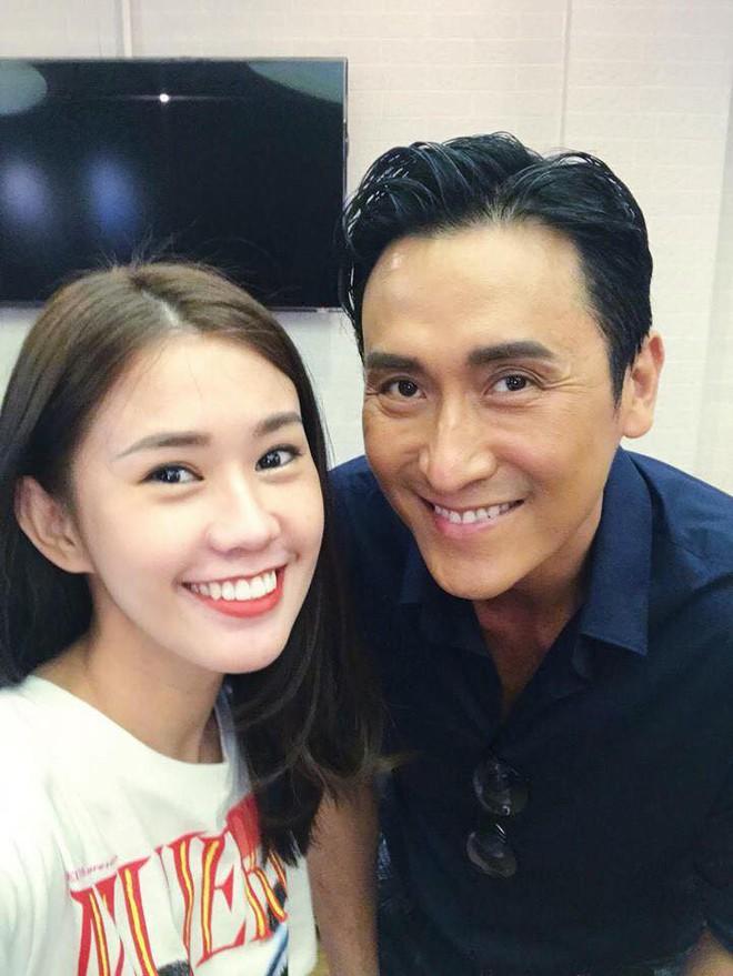 Phở Đặc Biệt, Ngọc Thảo thích thú khi gặp sao TVB Mã Đức Chung - Ảnh 3.