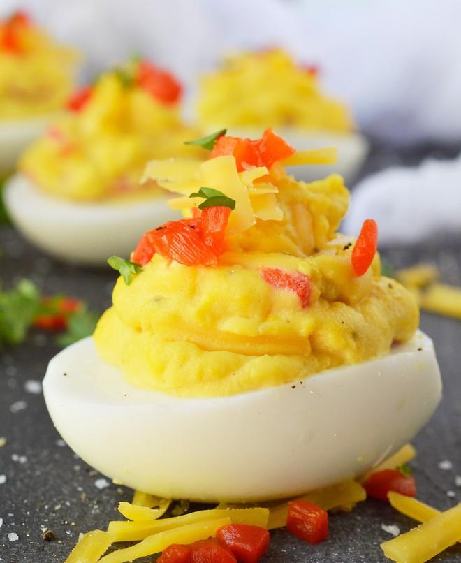 Không thích ăn trứng luộc, tôi chuyển sang làm món trứng ác quỷ này, không ngờ cả nhà khen lấy khen để - Ảnh 10.