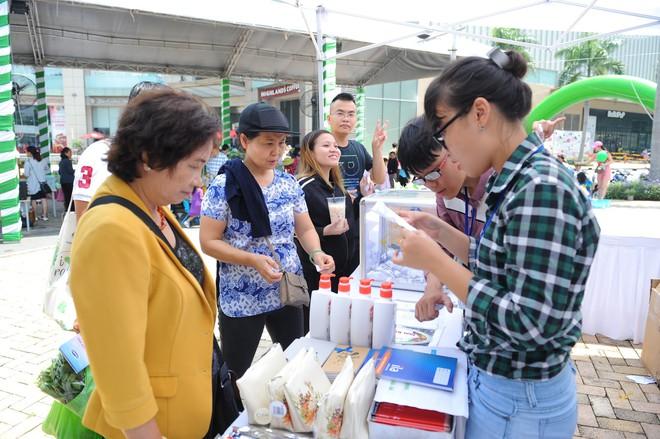 Hơn 40 gian hàng sản phẩm sạch dành cho gia đình hội tụ tại Ngày hội Xanh Phú Mỹ Hưng 2018 - Ảnh 1.