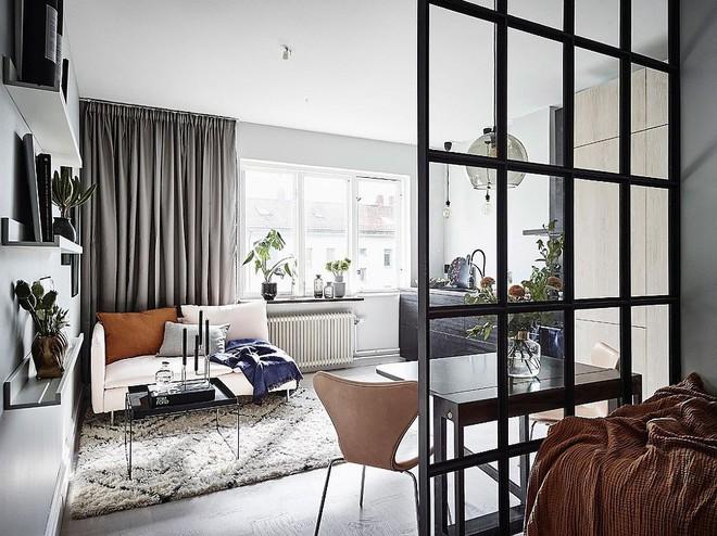Căn hộ nhỏ vỏn vẹn 26m² nhưng góc nào góc nấy đẹp như khách sạn nhờ áp dụng phong cách này - Ảnh 2.