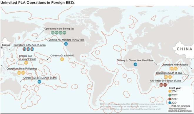 Mỹ tung bằng chứng lật tẩy hành vi tiền hậu bất nhất của Trung Quốc trên biển quốc tế - Ảnh 2.