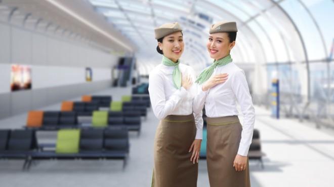 Cận cảnh đồng phục siêu đẹp của hãng hàng không Bamboo Airways - Ảnh 9.