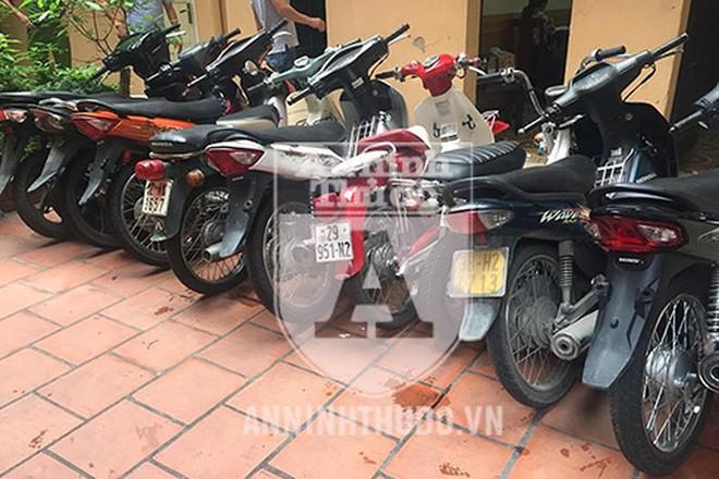 Gây ra hàng loạt vụ trộm cắp xe máy khắp Hà Nội, siêu trộm sa lưới pháp luật - Ảnh 2.