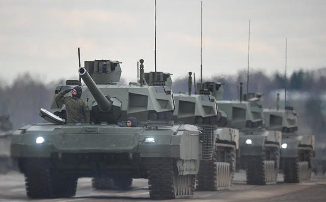 """Siêu tăng T-14 Armata Nga sẽ """"khạc lửa"""" bằng pháo 152 mm?"""