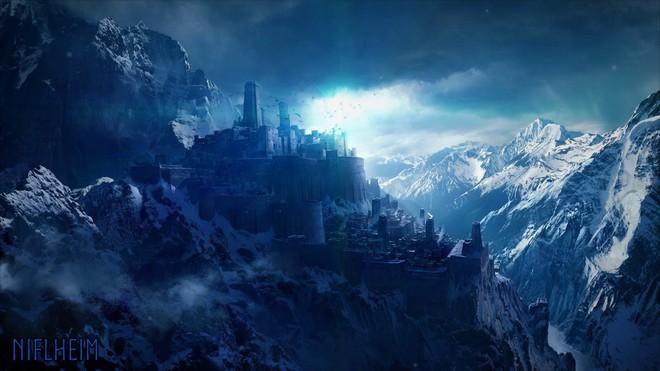 Không giống như trong phim về Thor đâu, đây mới là Cửu giới chuẩn trong thần thoại Bắc Âu - Ảnh 2.