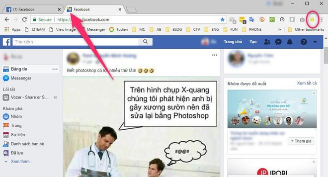 Cách đăng nhập nhiều tài khoản Facebook, Gmail cùng lúc trên Chrome, Firefox - Ảnh 3.