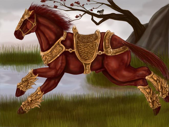 Bí mật chưa kể về Xích Thố, chiến mã nổi tiếng của Lã Bố và Quan Vân Trường - Ảnh 4.