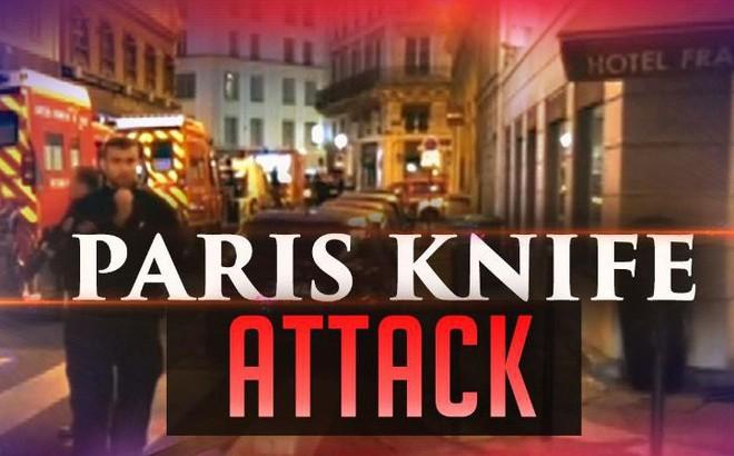 """Paris: Hung thủ hô """"Allahu Akbar"""" trước khi đâm chết 1 người, làm 2 người khác bị thương"""