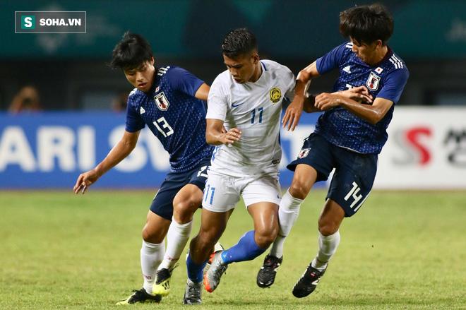Sau bản hùng ca hạ Hàn Quốc, U23 Malaysia nhận nỗi đau phút 90 trước Nhật Bản - Ảnh 2.